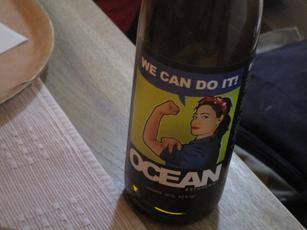 We Can Do It beer bottle