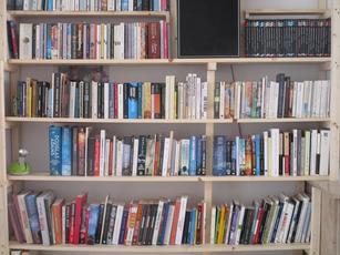 Bibliothèque avec le tasseau en plus